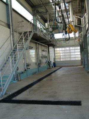 Reinigungsbahn für Lebensmittel der Czerwinski GmbH