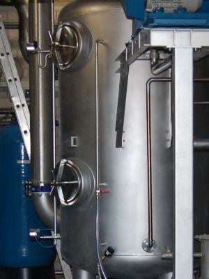 Abluftreinigungsanlage der Tankwagen-Reiniungsanlage